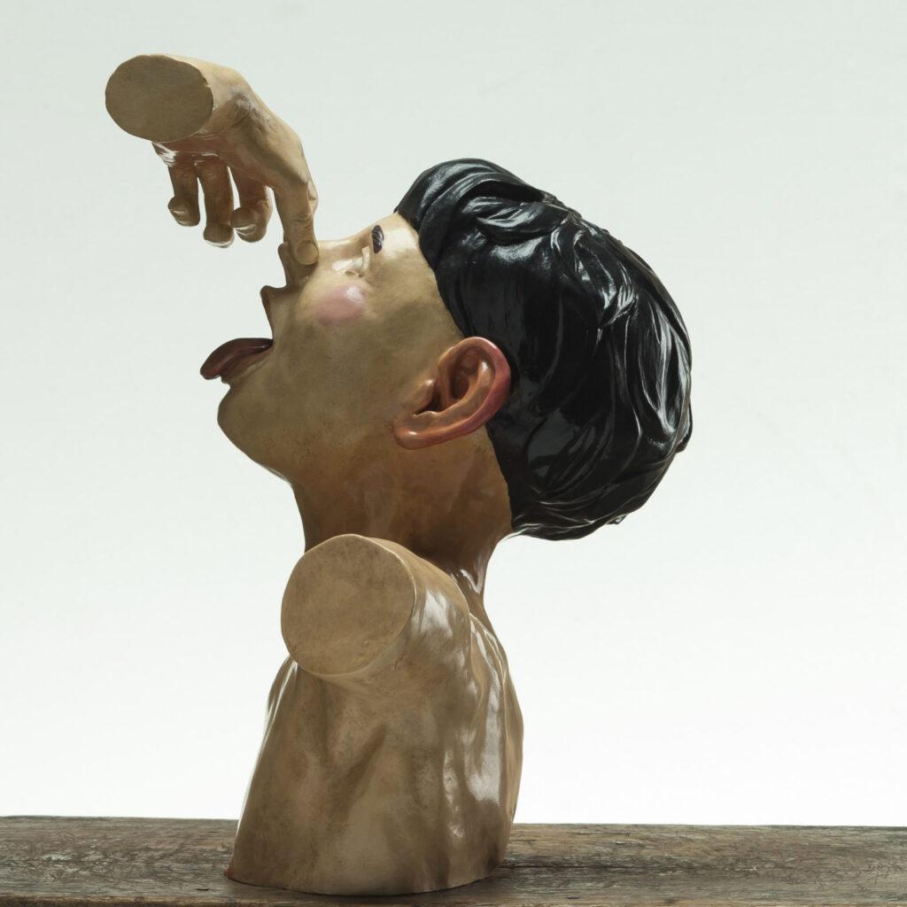 Lorenzo-Pacini-Futura-2017-bronzo-pittura-acrilica-39x39x28-cm_4-1612x1612